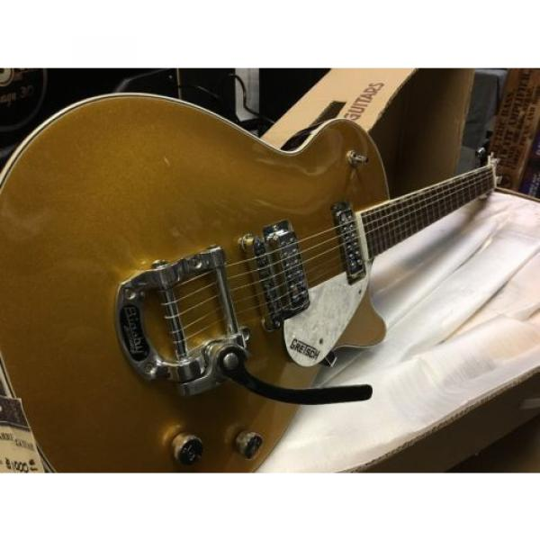 Gretsch G5238T Electromatic W/Bigsby Gold Top #2 image