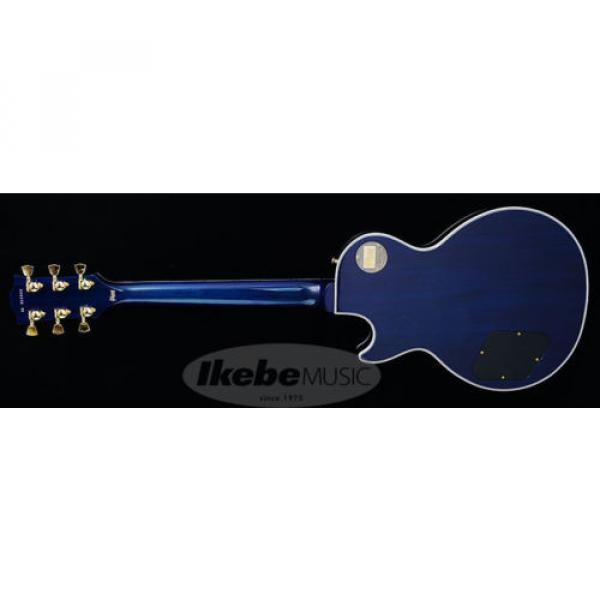 Gibson CUSTOM SHOP Les Paul Custom Figured (Aqua Blue) New  w/ Hard case #2 image