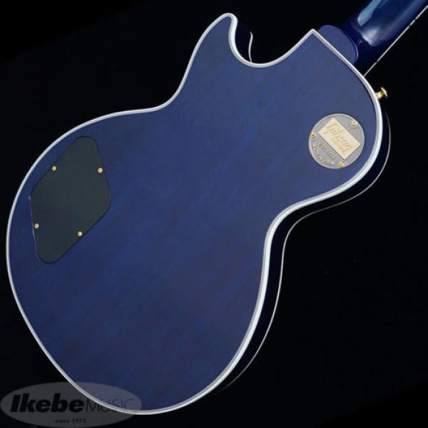 Gibson CUSTOM SHOP Les Paul Custom Figured (Aqua Blue) New  w/ Hard case #3 image