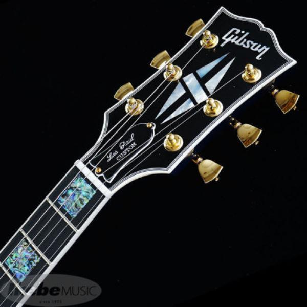 Gibson CUSTOM SHOP Les Paul Custom Figured (Aqua Blue) New  w/ Hard case #5 image