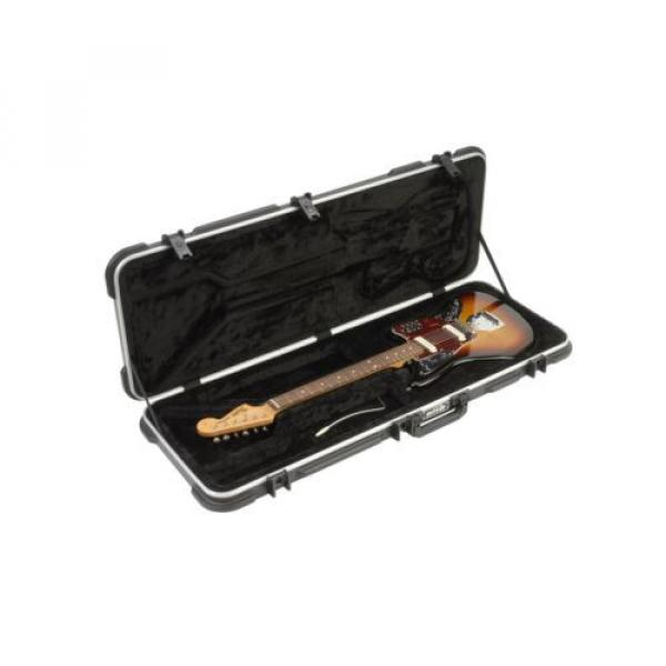 SKB Jaguar/Jazzmaster Type Shaped Hardshell Case 6-string Guitars only...not ... #2 image