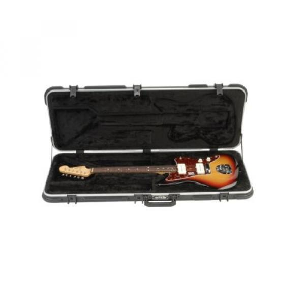 SKB Jaguar/Jazzmaster Type Shaped Hardshell Case 6-string Guitars only...not ... #3 image