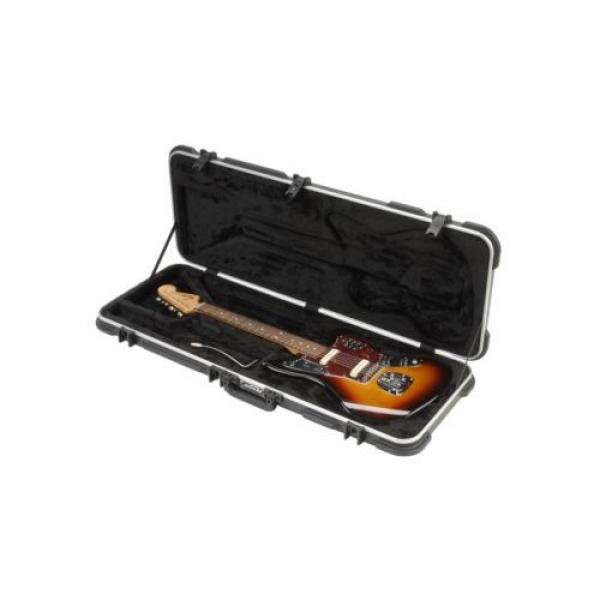 SKB Jaguar/Jazzmaster Type Shaped Hardshell Case 6-string Guitars only...not ... #5 image