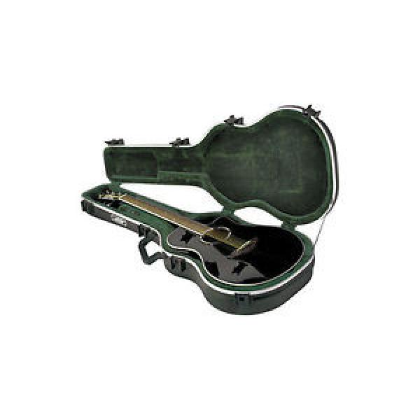 NEW SKB UNIVERSAL THIN-LINE ACOUSTIC/ELECTRIC CLASSICAL GUITAR HARD FLIGHT CASE #1 image