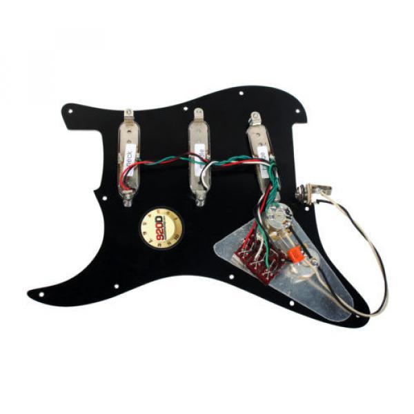 Burns London Mini Tri-Sonics Brian May Loaded Pickguard Chrome Black #2 image