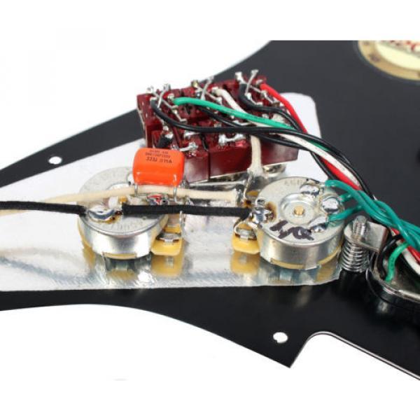 Burns London Mini Tri-Sonics Brian May Loaded Pickguard Chrome Black #4 image