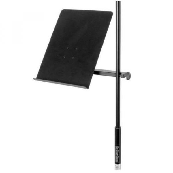 U-Mount Clamp-On Bookplate Stand Holder adjustable Mic microphone FREE SHIPPING #1 image