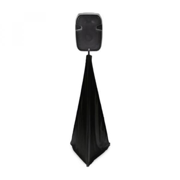 DJ Speaker / Light Stand Scrim, Universal Compatibility & Mountable, for Tripod #1 image