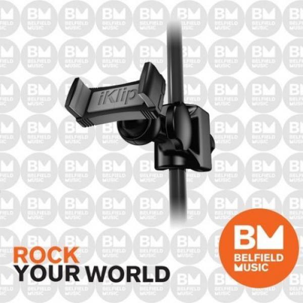 IK Multimedia iKlip Xpand Mini Universal Mic Stand Mount for Smartphone Inc #1 image
