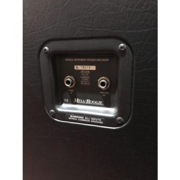 Mesa Boogie 2×12 Slant Electric Guitar Cabinet Booya! with Celestion Creambacks #5 image