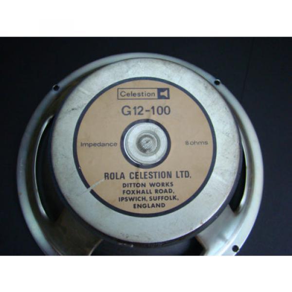 Rola Celestion G12-100  , very rar,  vintage Legende, #3 image