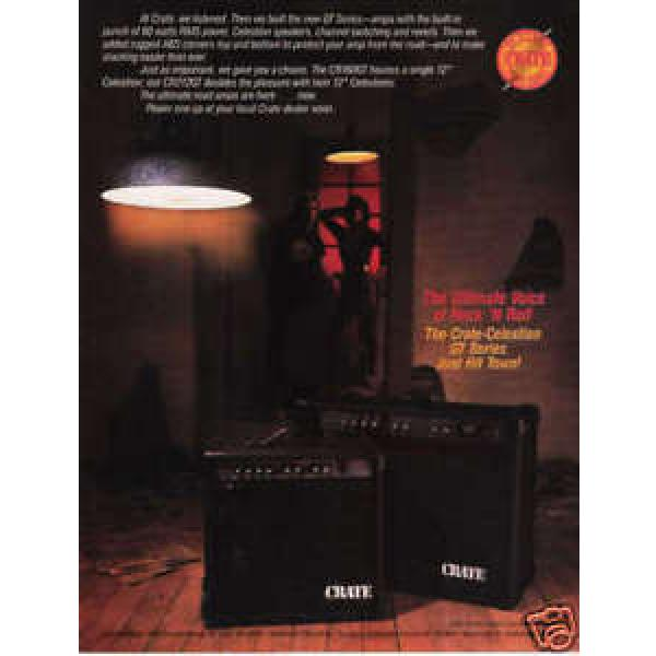 1984 VINTAGE AD Crate Celestion GT Series Amps Ultimate #1 image
