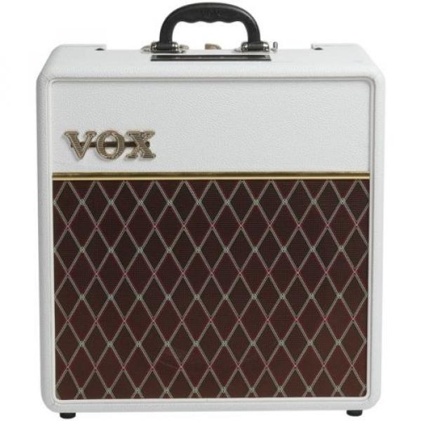 "Vox AC4C1 Limited White Bronco - 4W 1x10"" Guitar C #1 image"