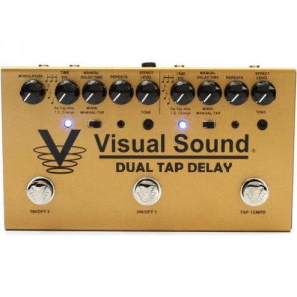 Truetone Visual Sound V3 Dual Tap Delay Pedal BRAND NEW #1 image